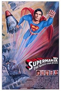 """His most important adventure, the quest for peace."" Christopher Reeve's desire to see peace on Earth was so strong that he guided the story of his final appearance as the Man of Steel. Superman IV sees the hero rid the world of nuclear weapons by gathering them up and throwing them into the sun. Lex […]"